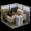 a 5' x 15' storage unit