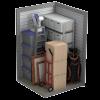 a 5' x 10' storage unit