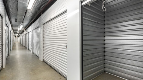 Storage Units at Space Shop Self Storage Facility on 7105 Old National Hwy in Riverdale, GA